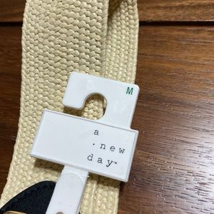a new day Accessories - A New Day Straw without Centrebar Belt Medium